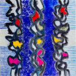 Líneas azules 50×50 ld