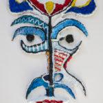 masque bleu